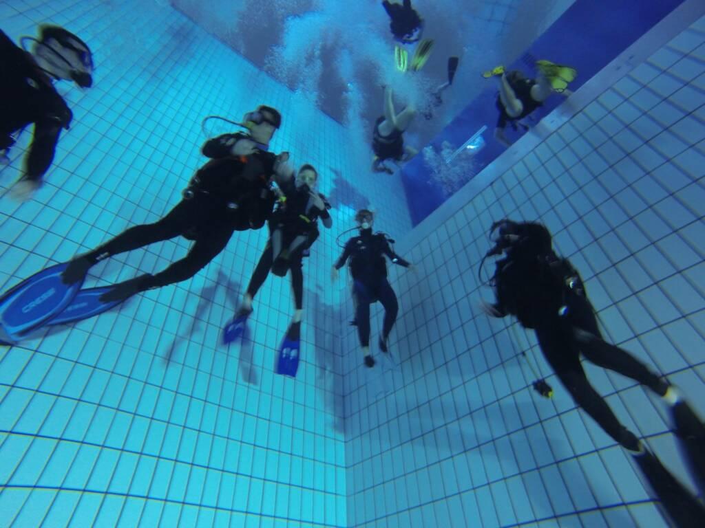 Plongée Fosse Kirchberg profondeur -15m
